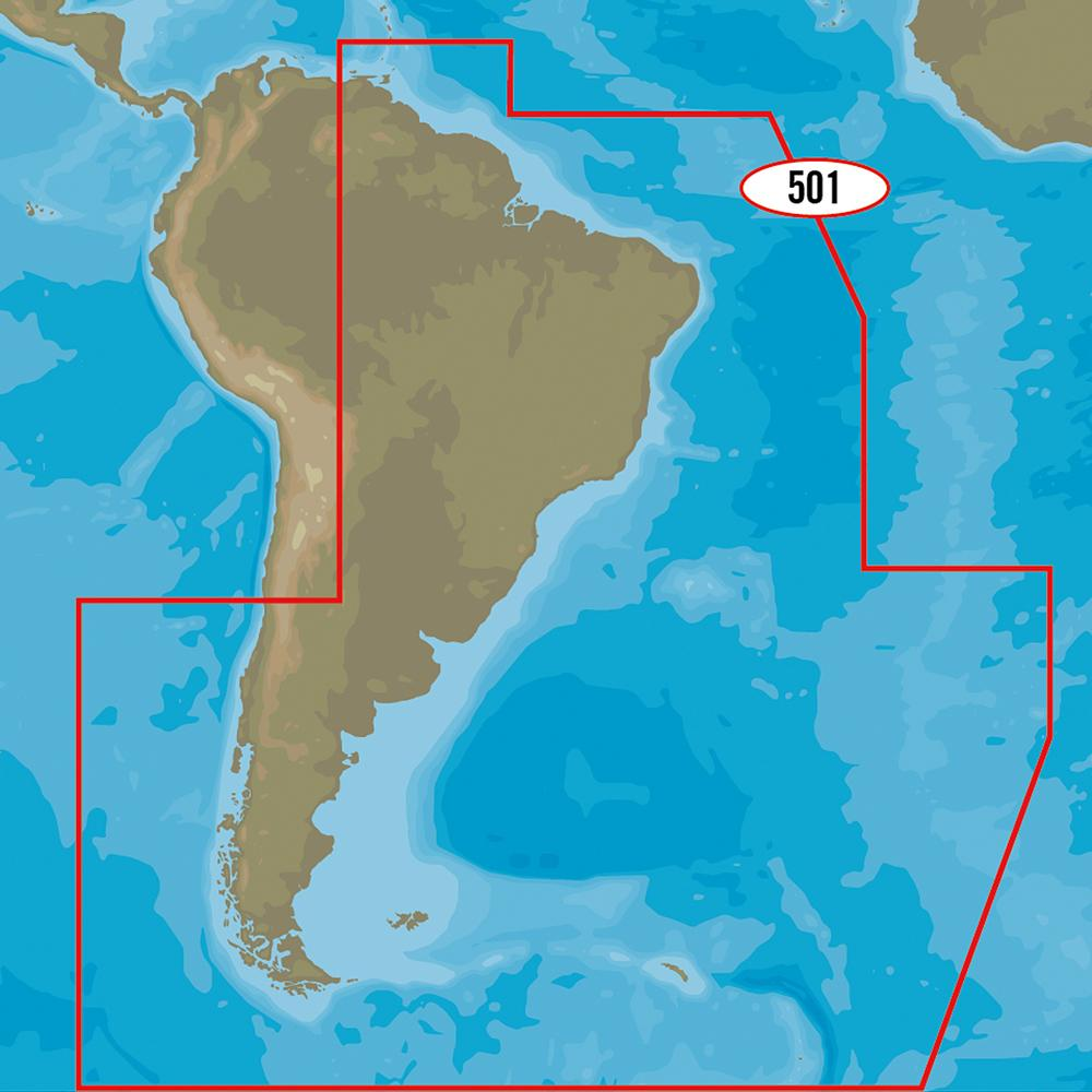 C-MAP MAX-N+ SA-Y501 - Gulf of Paria to Cape Horn - Lightship Marine Outfitters