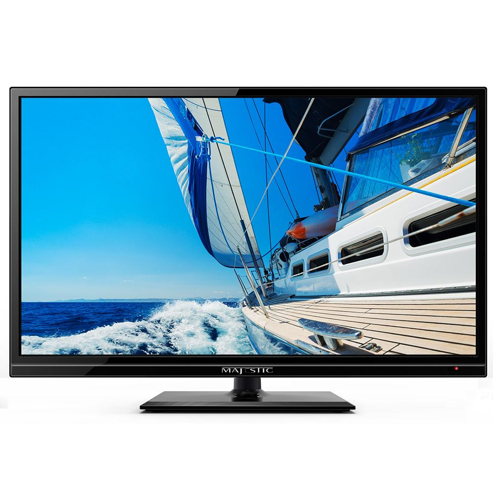 "Majestic 22"" LED Full HD 12V TV w-Built-In Global HD Tuners, DVD, USB & MMMI Ultra Low Power Current - Lightship Marine Outfitters"