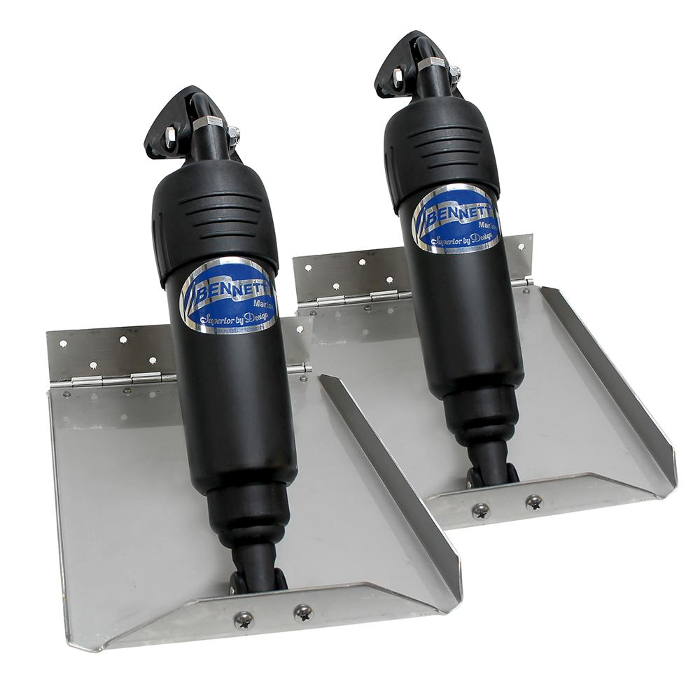 Bennett 1212atp Hydraulic Trim Tabs W Auto Pro Lightship Atc Automatic Tab Controller Installation In A Boat 912ed Electric Edge Mount Limited Space Kits 12v