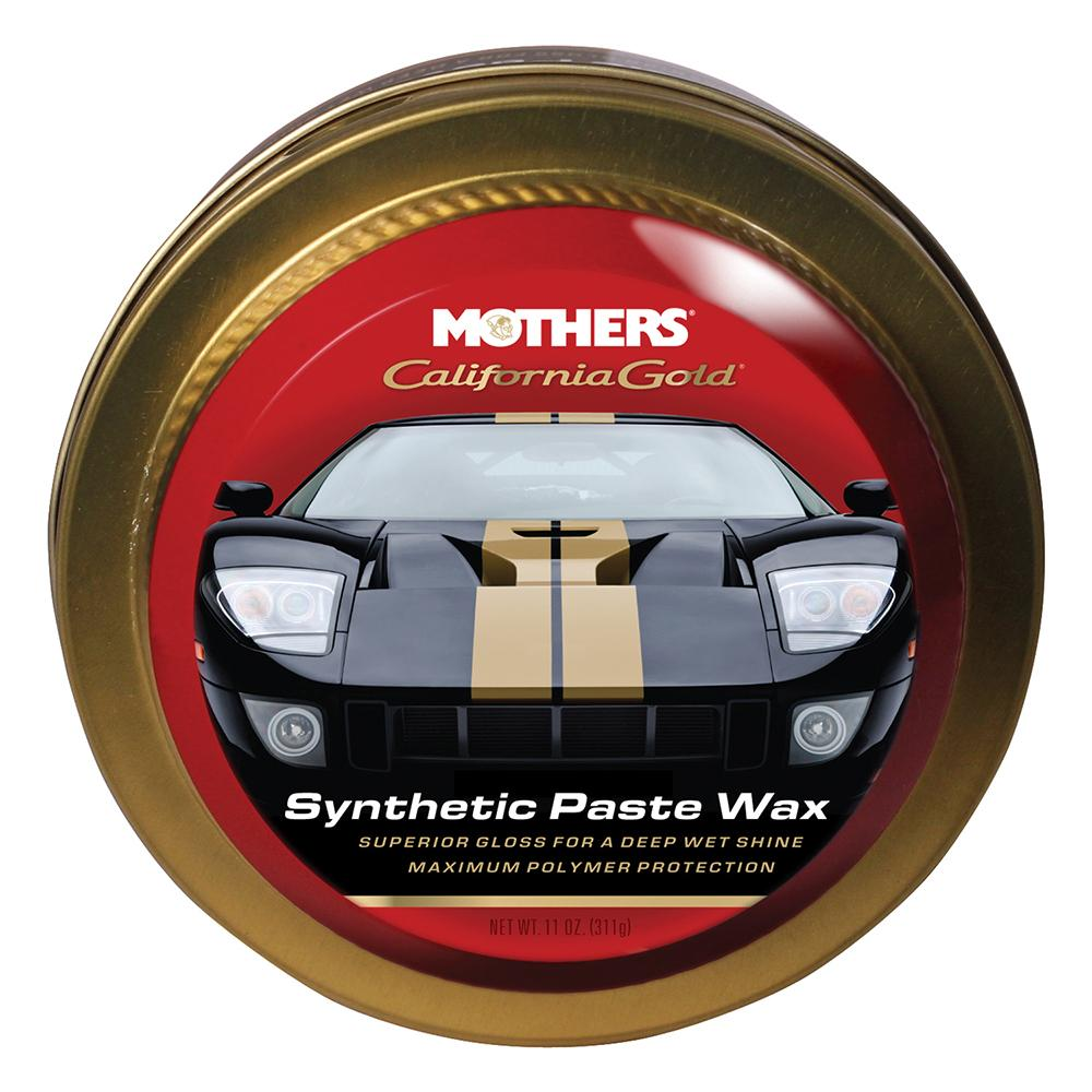 Mothers California Gold Synthetic Paste Wax - 11oz - Lightship Marine Outfitters