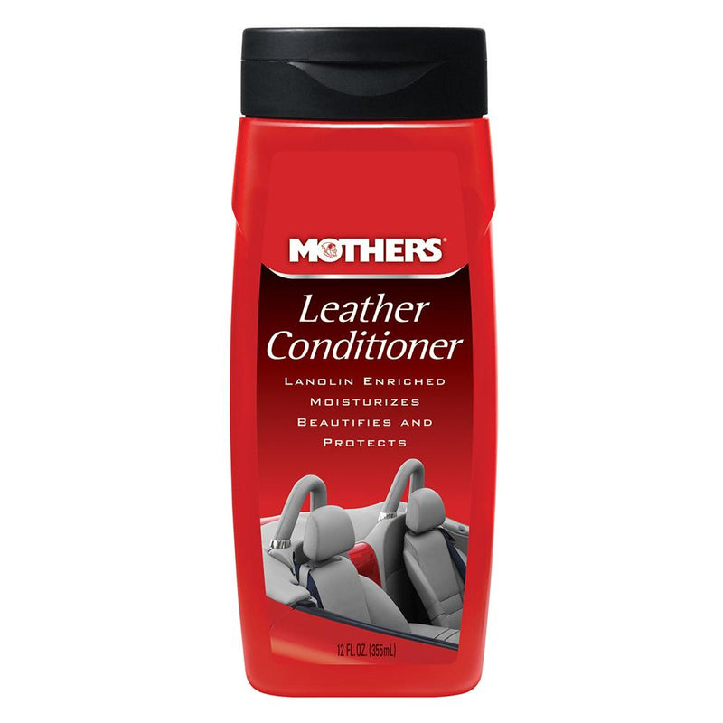Mothers Leather Conditioner - 12oz - *Case of 6* - Lightship Marine Outfitters