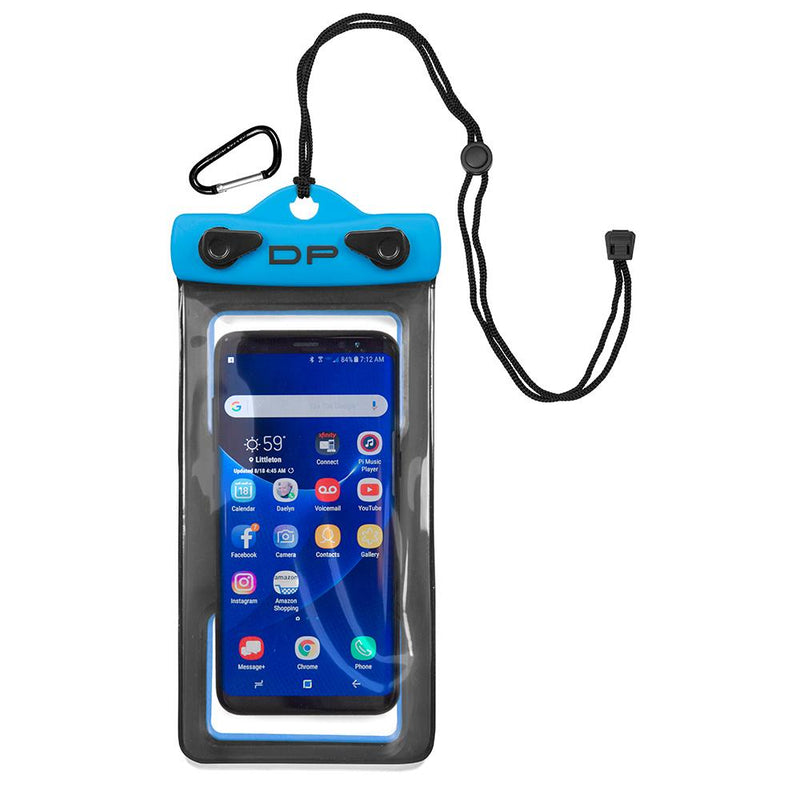 "Dry Pak Smartphone, GPS, MP3 Case - 4"" x 7"" - Electric Blue - Lightship Marine Outfitters"