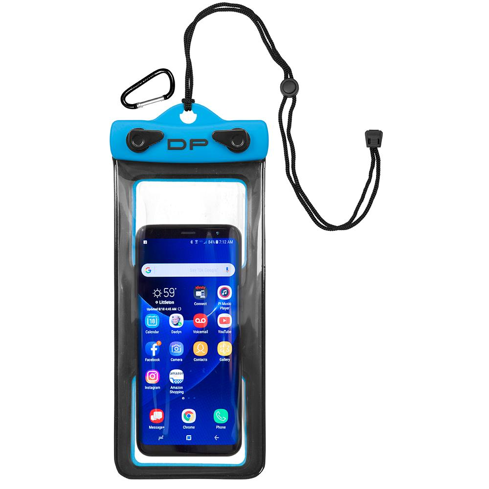 "Dry Pak Cell Phone Case - 4"" x 8"" - Electric Blue - Lightship Marine Outfitters"