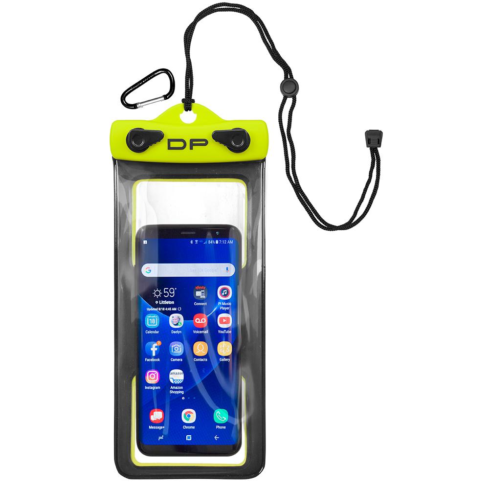 "Dry Pak Cell Phone Case - 4"" x 8"" - Lemon Lime - Lightship Marine Outfitters"