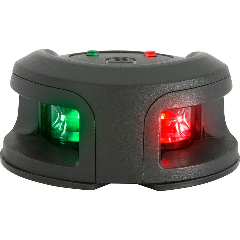 Attwood LightArmor Bow Mount Navigation Light - Composite Black - Bi-Color - 2NM - Lightship Marine Outfitters