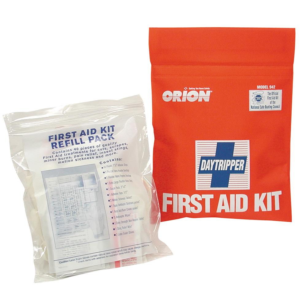 Orion Daytripper First Aid Kit - Soft Case - Lightship Marine Outfitters