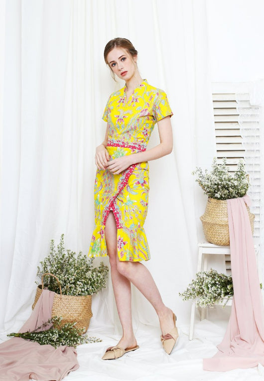 Louisa Dress Batik Modern