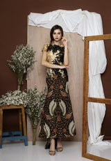 Biduri Dress Batik Modern