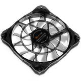 ID-COOLING Slim 15mm Thickness, Best for Small Case, Big Airflow of 53.6CFM 120mm PWM Controlled Fan With De-vibration Rubber