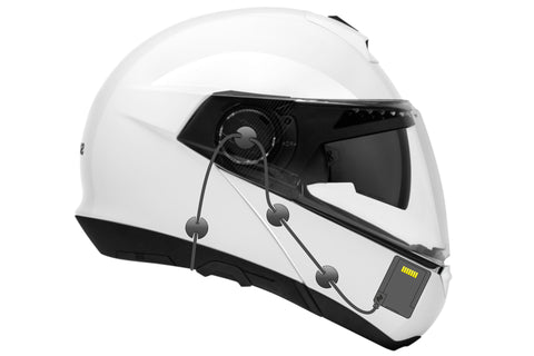 NUVIZ Wired Headset W/ Boom Microphone For Modular Helmets