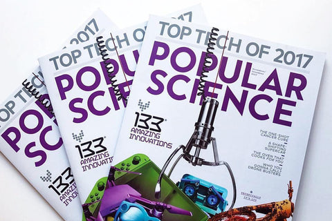 NUVIZ Wins Popular Science 2017 Best Of What's New