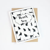 Cat Lover Printable Everyday Greeting Card Pack | A2 & A7 sizes | Inside Phrases - Embellish by Jackie