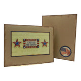 Flag themed Cards - United States - Embellish by Jackie