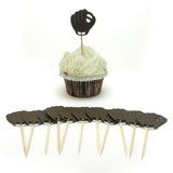 Baseball Glove Cupcake Toppers Set of 12 | Sports themed Party Décor | Boy Birthday Decorations - Embellish by Jackie