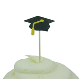 Graduation Cupcake Topper - Set of 12 Graduation Cap and Diploma - Graduation Hat Cupcake - Embellish by Jackie