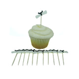 Diploma Cupcake Toppers - Set of 12 Graduation Diploma Decorations - Embellish by Jackie