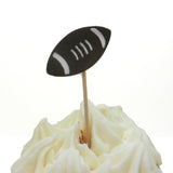 Football Cupcake Topper Pack of 12 Birthday Cake Topper Sport Birthday Party Football Party Boy Football Décor Football Toppers Football - Embellish by Jackie