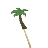 Palm Tree Cupcake Toppers Set of 12 Party Decoration Cupcake Topper Hawaiian Party Cake Topper Birthday Party Tropical Décor Beach Theme - Embellish by Jackie