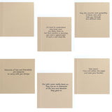 Goldendoodle Sympathy Card | 10 Pack or Single Card | Labradoodle Greeting Cards | Choose Inside