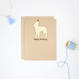 Goldendoodle Birthday Card | Handmade Labradoodle Greeting Cards| Single or 10 Pack | Choose Inside