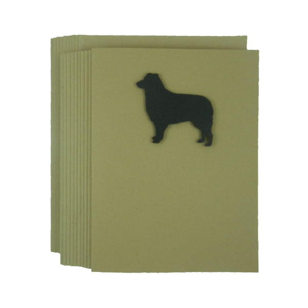 Border Collie Dog Blank Note Cards Blank Dog Card Dog Note Cards Blank Pet Cards Blank Dog - Embellish by Jackie