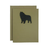 Schipperke Blank Dog Card Blank Note Cards Dog Note Cards Blank Pet Cards Dog Lover Gift Schipperke Blank Dog Cards Dog Greeting Card Pack - Embellish by Jackie