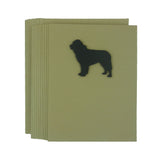 Newfoundland Blank Note Cards Blank Newfie Dog Card Dog Note Cards Blank Pet Cards Blank Dog - Embellish by Jackie
