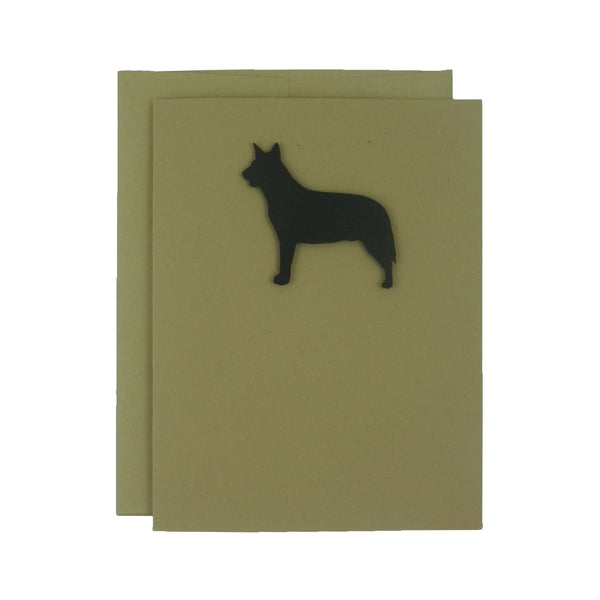 Australian Cattle Dog Blank Note Cards Blank Dog Card Dog Note Cards Blank Pet Cards Blank Dog - Embellish by Jackie