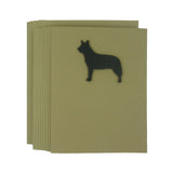 Australian Cattle Dog Blank Note Cards 10 Pack - Embellish by Jackie