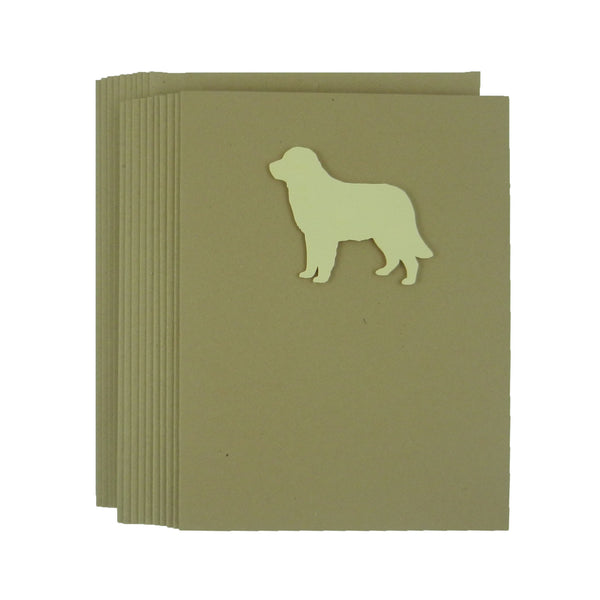 Golden Retriever Blank Dog Note Cards 10 Pack - Embellish by Jackie