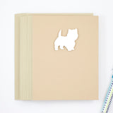 West Highland White Terrier Blank Cards | Handmade Westie Dog Notecards | Single Card or 10 Pack