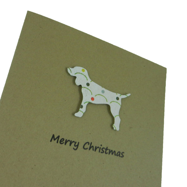 Dog Christmas Cards - 10 Pack - Dog Silhouette Christmas Cards - Embellish by Jackie