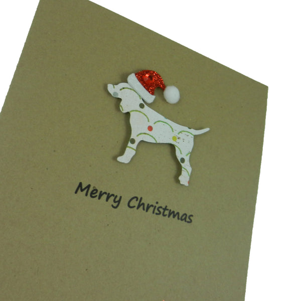 Dog Christmas Cards Pet Christmas Cards Pet Holiday Cards 10 Pack - Embellish by Jackie
