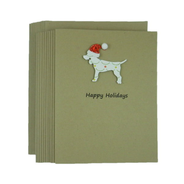 Dog Christmas Cards Pet Christmas Cards Pet Holiday Cards 10 Pack Dog Christmas Card Dog - Embellish by Jackie