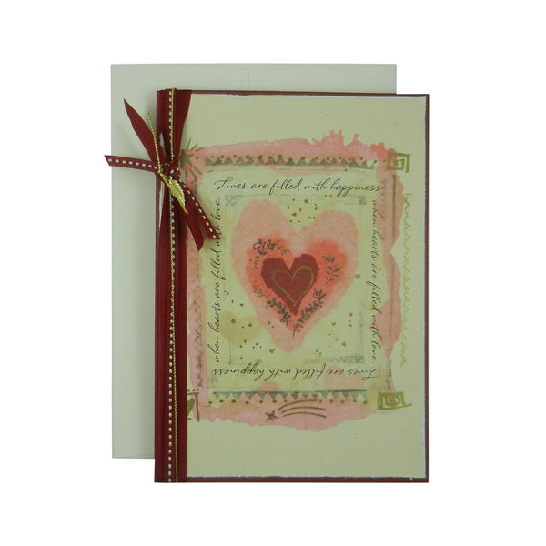 Valentines Day Embellish by Jackie – Handmade Valentine Day Card