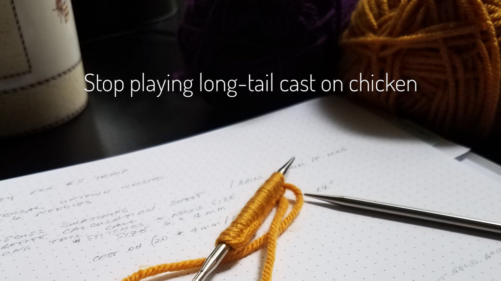 An Easy Long-tail Cast-on Calculation