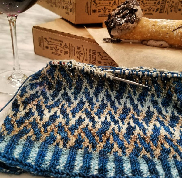 Mosaic Knitting 10/20