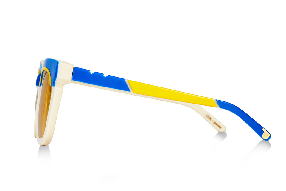 CLDL X PARED - Pools & Palms -Ivory Cobalt - Yellow Lense
