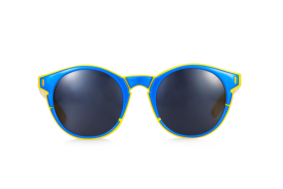 CLDL X PARED- Lime & the Coconut - Cobalt Blue/Honeycomb-Blue lenses
