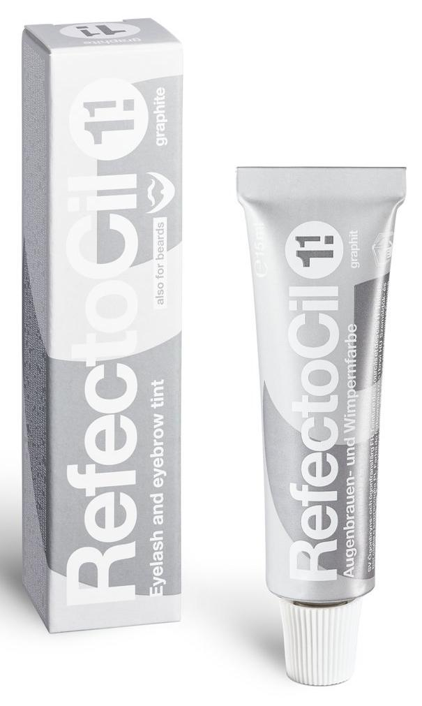 Refectocil Cream Hair Dye - 1.1 Graphite, 5 oz. - Gold Cosmetics & Supplies