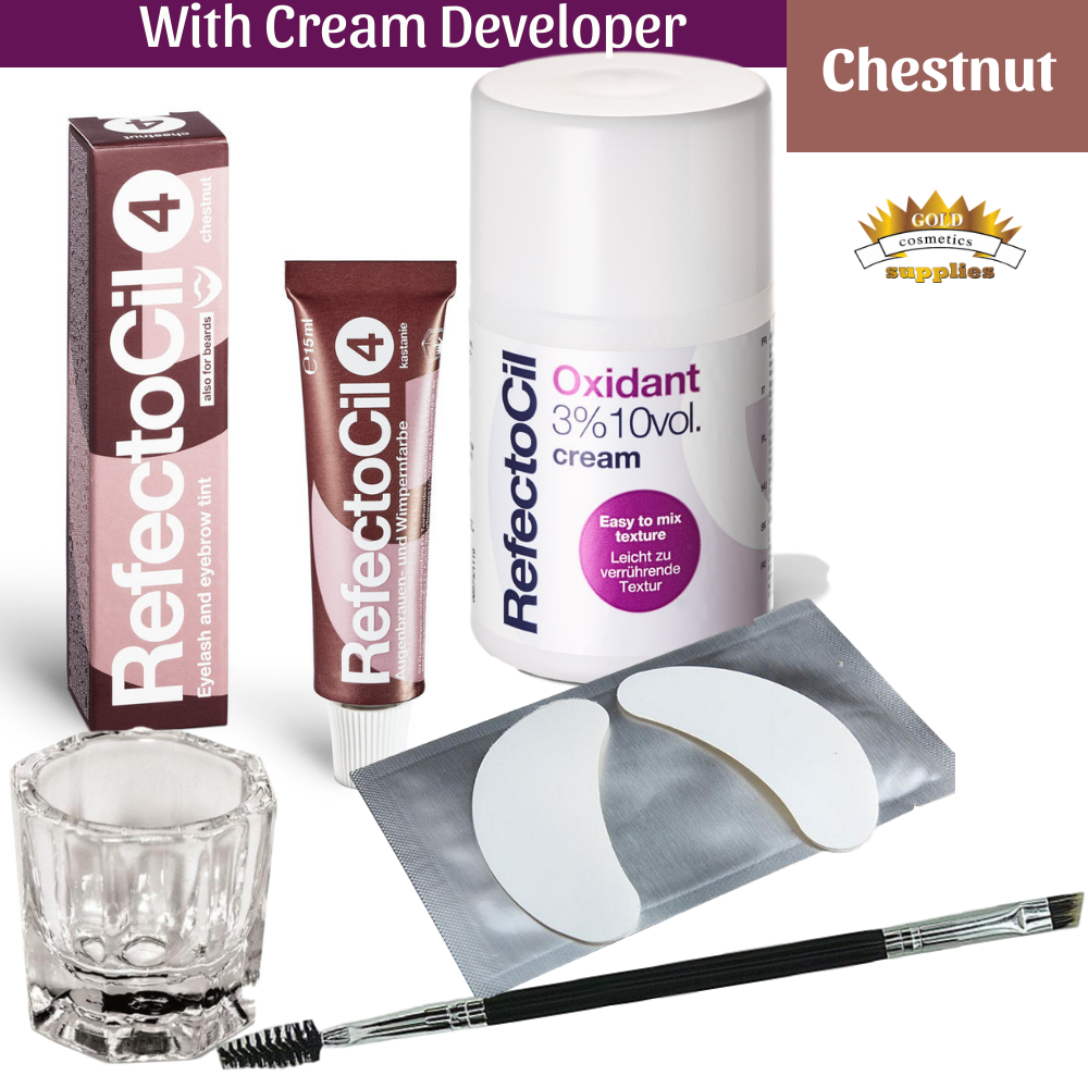 Refectocil chestnut mini kit