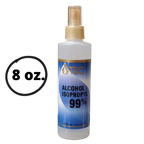 Isopropyl Alcohol 99% - 8oz