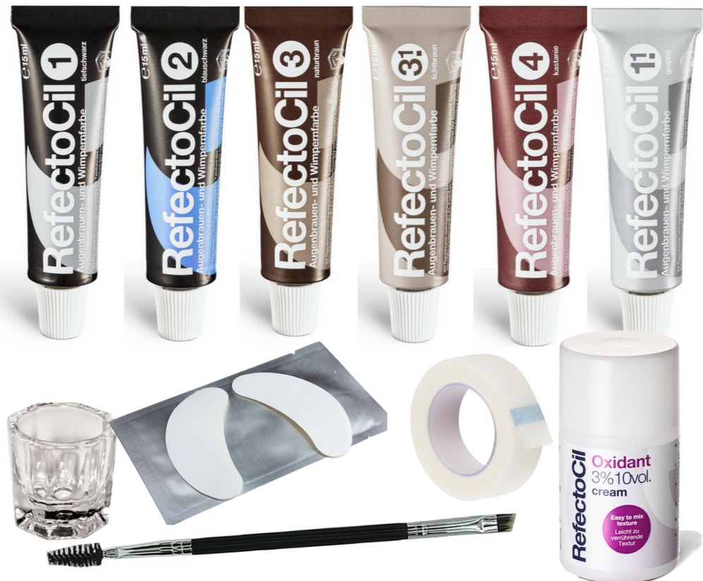 Refectocil Ultimate Kit (11-Pieces) - Free Shipping - Gold Cosmetics & Supplies