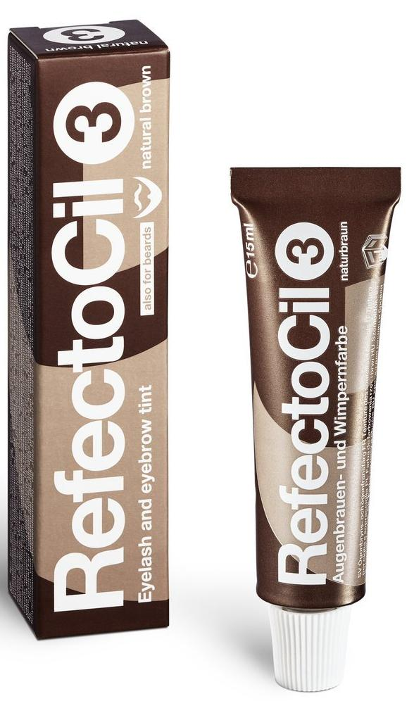 Refectocil Natural Brown + Natural Brown + 2 Gifts - Gold Cosmetics & Supplies