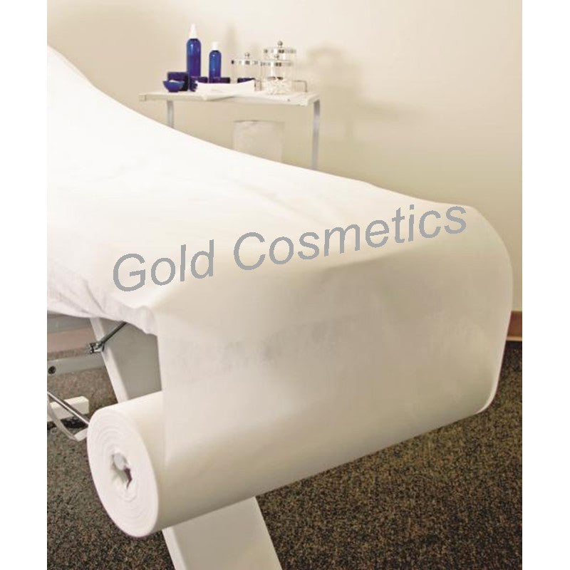 "Wide Disposable Perforated Bed Cover Roll (31"" x 355 ft.) - Gold Cosmetics & Supplies"