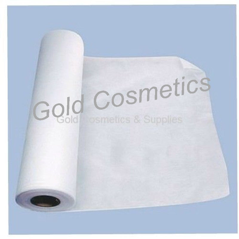 1 CASE/ 4-pcs/ Disposable Perforated BED COVER ROLL (White) - Gold Cosmetics & Supplies