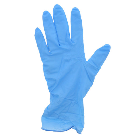 Disposable Nitrile Gloves, Powder-Free, 100-pcs - Gold Cosmetics & Supplies