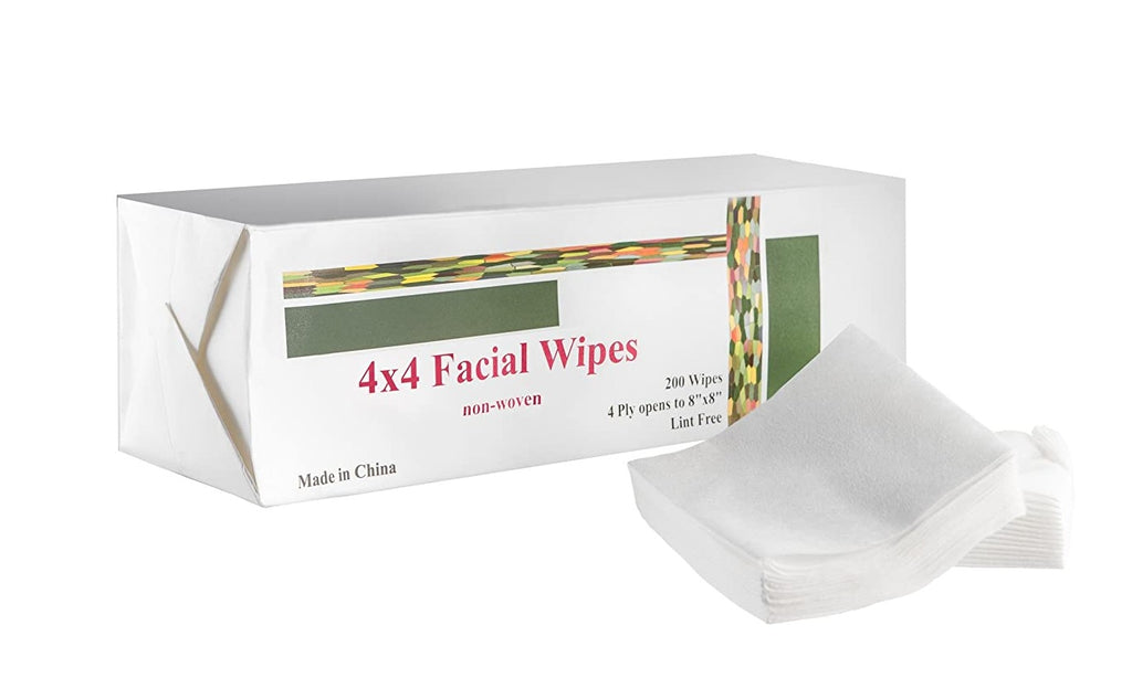 facial wipes 4x4