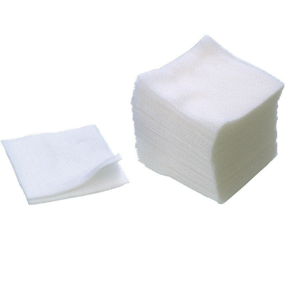 200-PCS/ Disposable Esthetic Wipes 2x2 - Gold Cosmetics & Supplies