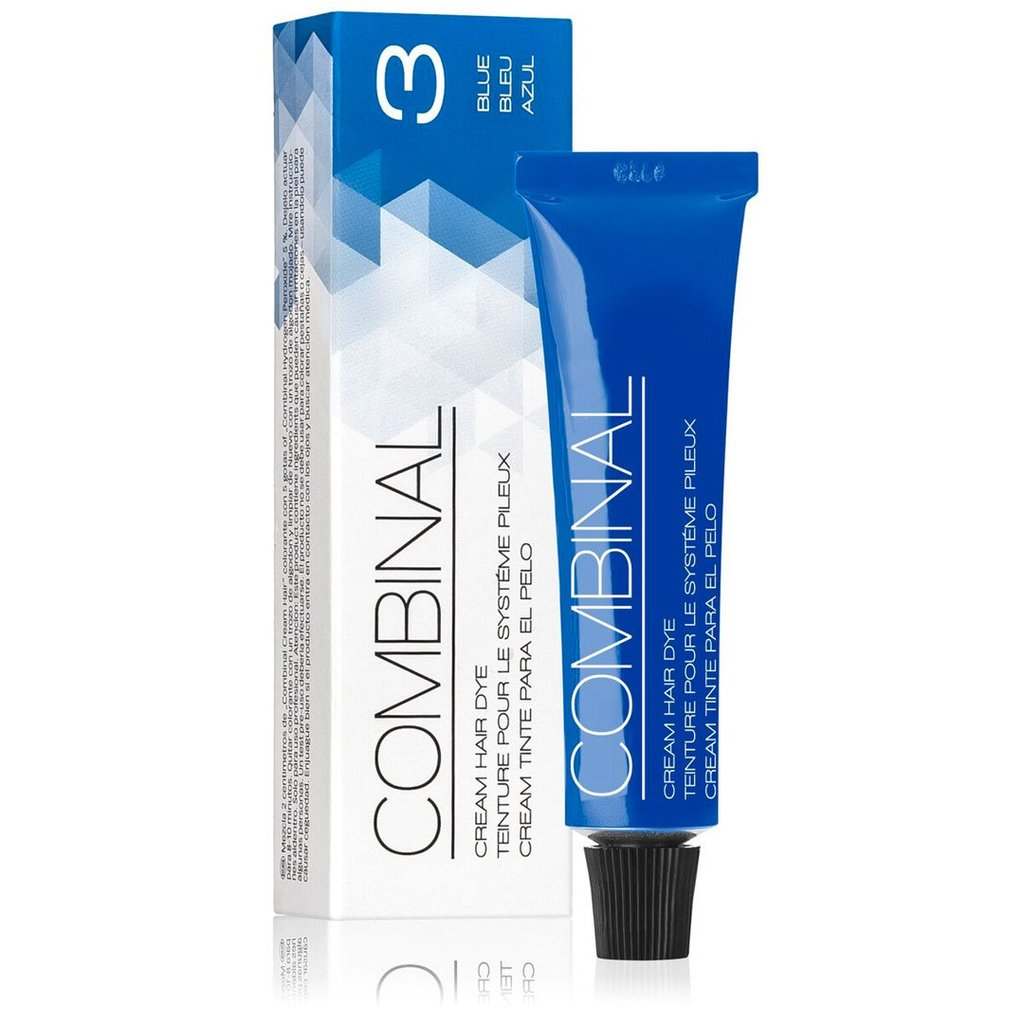 Combinal Cream Hair Dye - Blue No.3, 5 oz. - Gold Cosmetics & Supplies